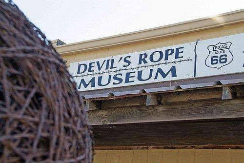 The Devil's Rope Museum is just off historic Route 66. Photo by Rick Vanderpool.