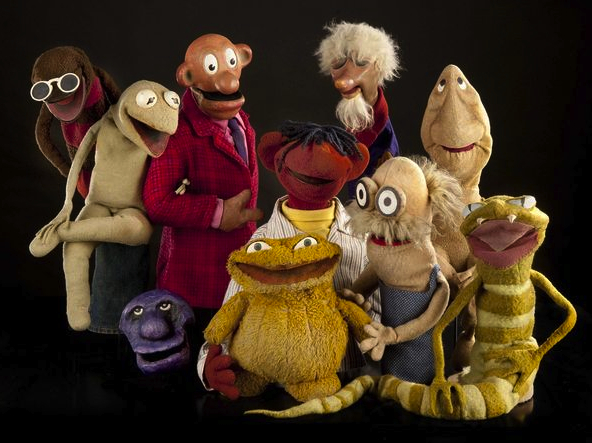 "The cast of ""Sam and Friends"" now live in the Smithsonian."