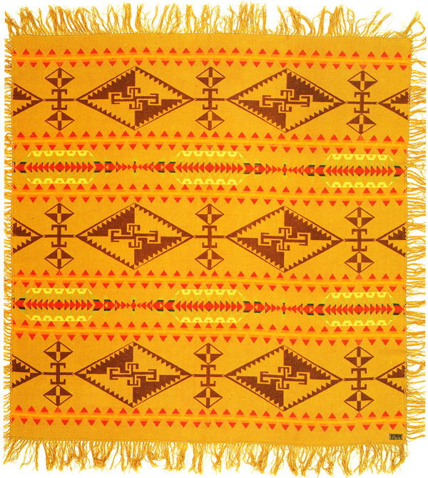 "A Pendleton six-element shawl from 1921. Via ""Language of the Robe."""