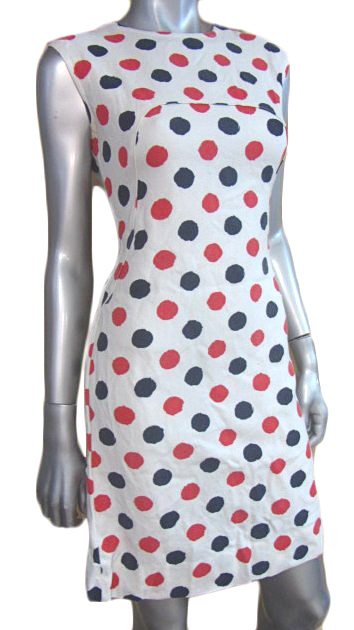 This polka-dotted mini-dress is tons of fun, but still serious enough to get you hired.