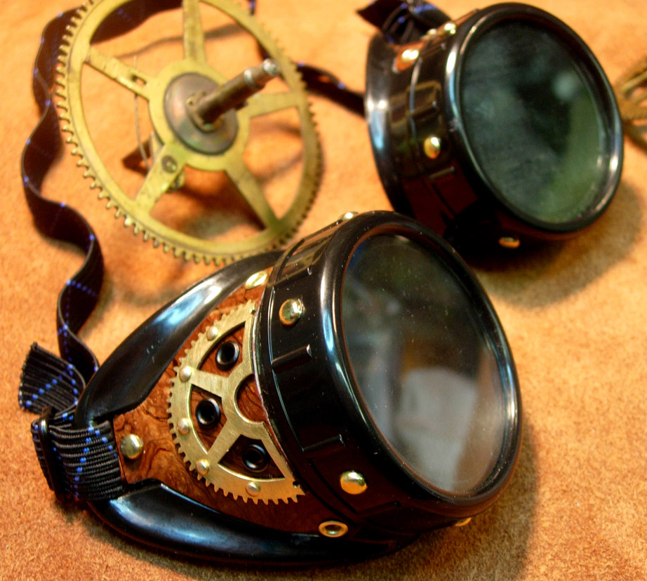 Special goggles designed by the Neverwas crew.