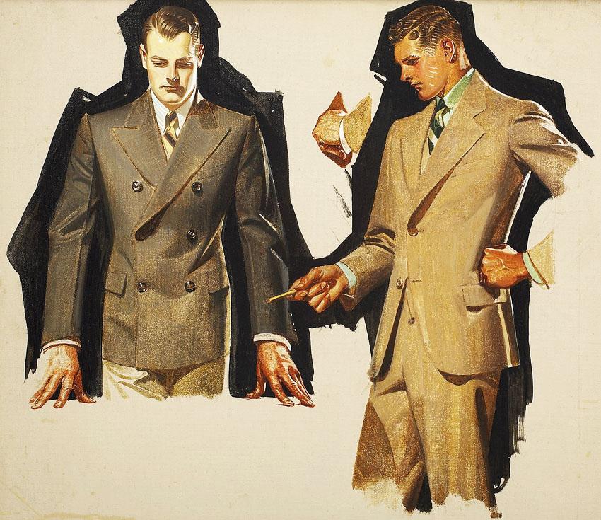 suit study 1931