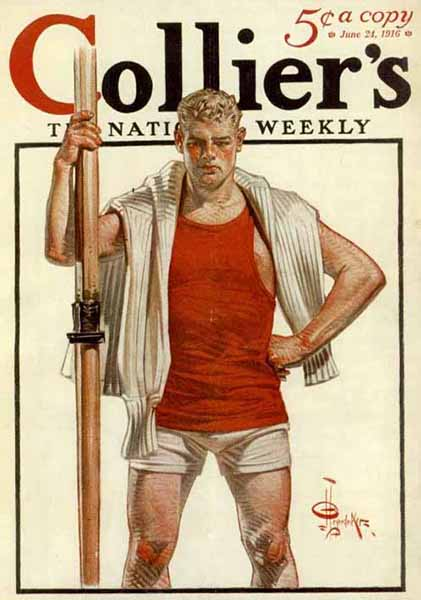 Collier's cover, 1916