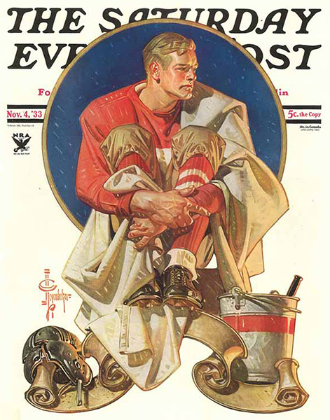 The Saturday Evening Post cover, 1933