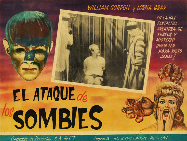 "Despite its alluring graphics, Cozzoli couldn't find any records of the film ""El Ataque de los Sombies."""