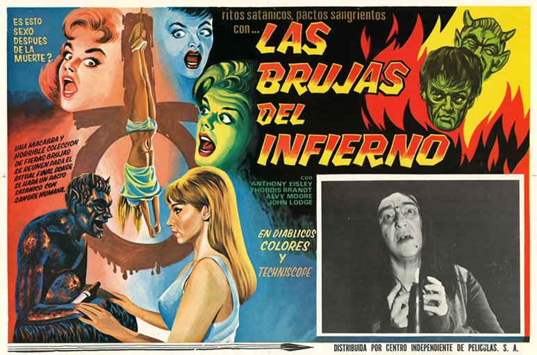 "Sexy witches abound in ""Las Brujas Del Infierno"" from"