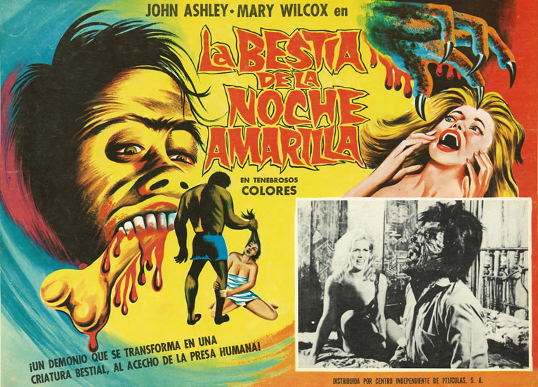 "1971's ""La Bestia de la Noche Amarilla,"" or ""The Beast of the Yellow Night,"" presents the more brash side of Mexican lobby cards."