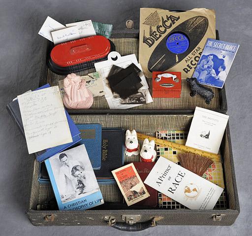 Thelma's suitcase.