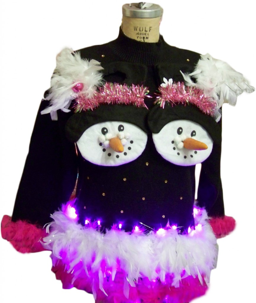 ugly and tacky Christmas sweaters and accessories – sunshine and chaos