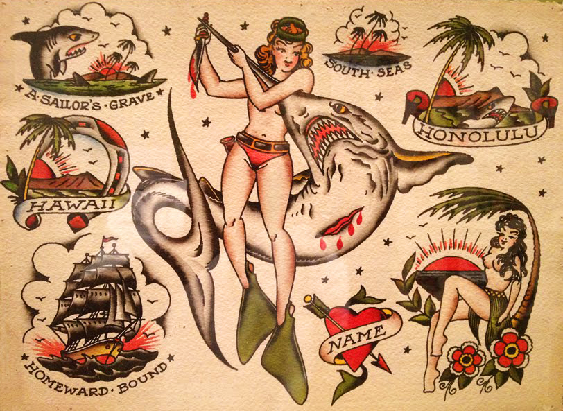 Hello Sailor! The Nautical Roots of Popular Tattoos | Collectors ...