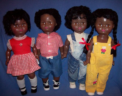 Black doll maker Beatrice Wright Brewington started producing dolls in the late 1960s that resembled her own kids. Photo by Debbie Behan Garrett.