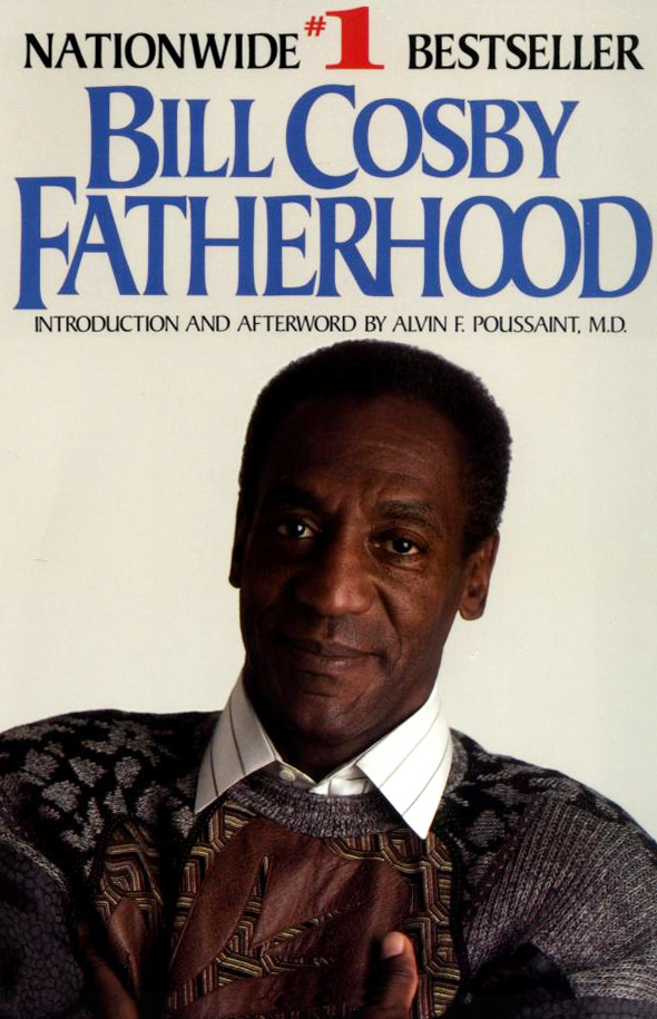 "Cosby believes the first KOOS sweater he ever received appeared on the paperback version of his book, ""Fatherhood."""