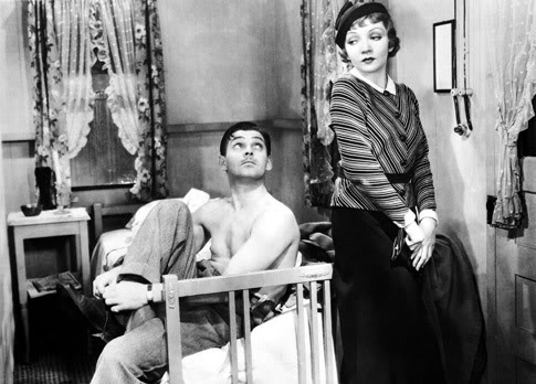 "A shirtless Clark Gable in 1934's ""It Happened One Night"" signified the changing norms for male nudity."