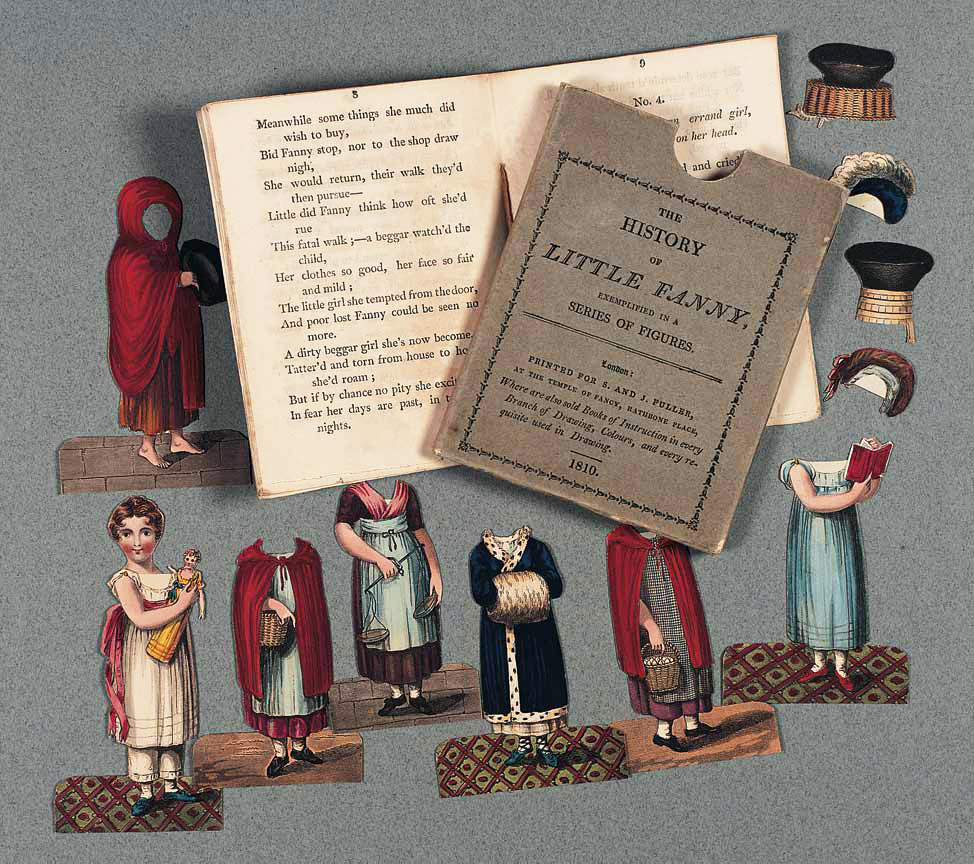 "The ""Little Fanny"" book and paper dolls series. Via Paper Thin Personas."