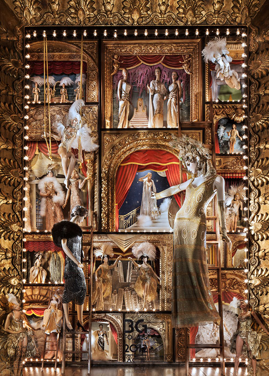 Bergdorf Goodman's 2012 windows followed an Art Deco