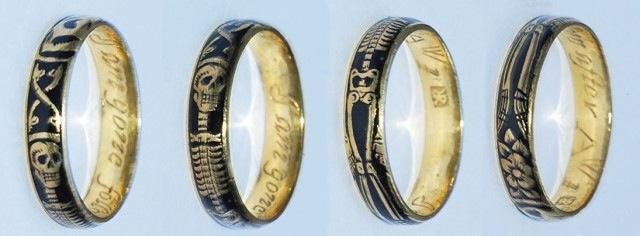 This memento mori ring  shown  Victorian Memento Mori Jewellery