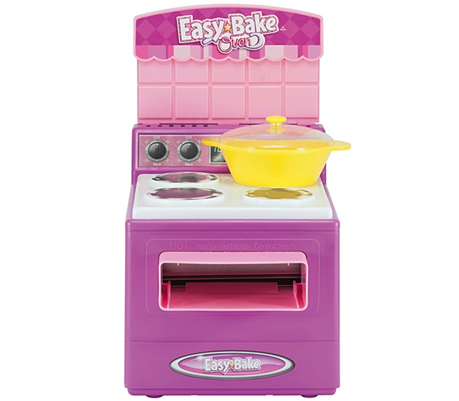 This 2006 front-loading Easy-Bake Oven with a heating element was completely recalled after Hasbro received reports of kids getting their fingers caught in the opening. (Courtesy of Todd Coopee)