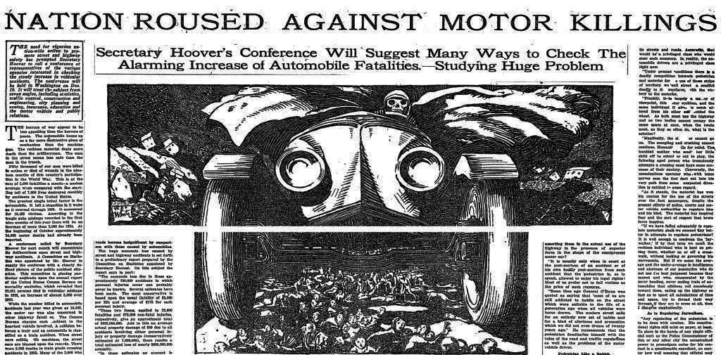 A Brief History of Car Domination | Cities and Self Driving Cars