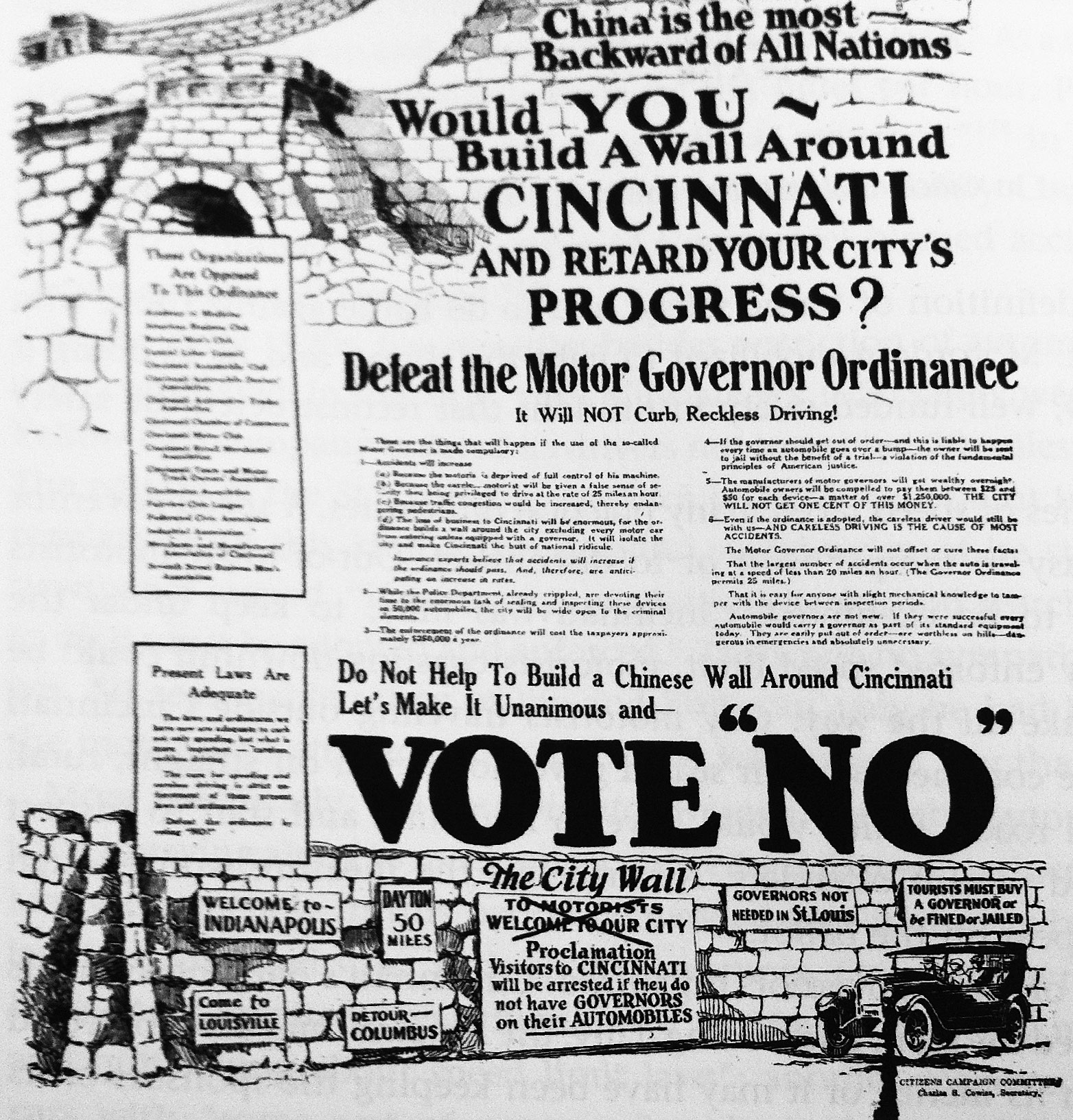 Maro 2014 uma incerta antropologia pgina 2 one auto industry response to the cincinnati referendum of 1923 was to conflate speed governors fandeluxe Image collections