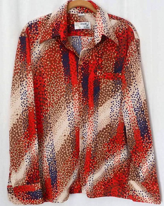 A polyester men's disco shirt from the '70s is the ultimate in kitsch-ware. But is it ugly?