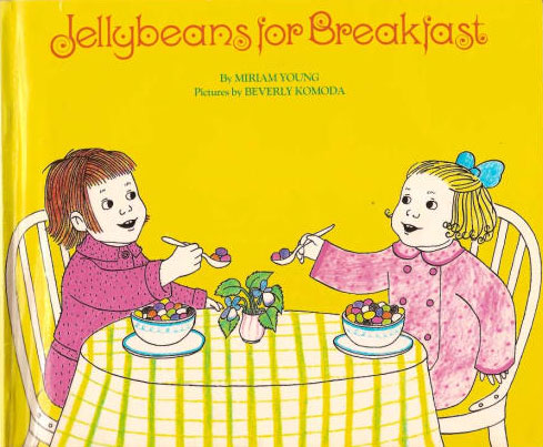 """Jellybeans for Breakfast,"" from 1968, is one of O'Holla's favorite out-of-print books."