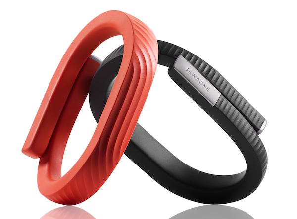 The Jawbone UP24 extends the personal tracking performed by fitness devices to a person's entire lifestyle, including analysis of how the wearer sleeps.