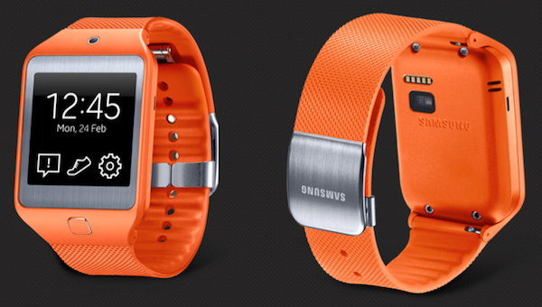 The new Samsung Gear 2 features a heart-rate monitor behind its face.