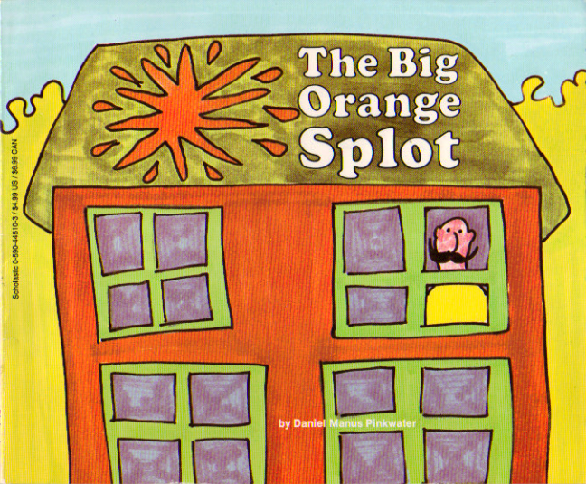 "For those uncomfortable with her blog, O'Holla suggests they read Daniel Pinkwater's ""The Big Orange Splot."""