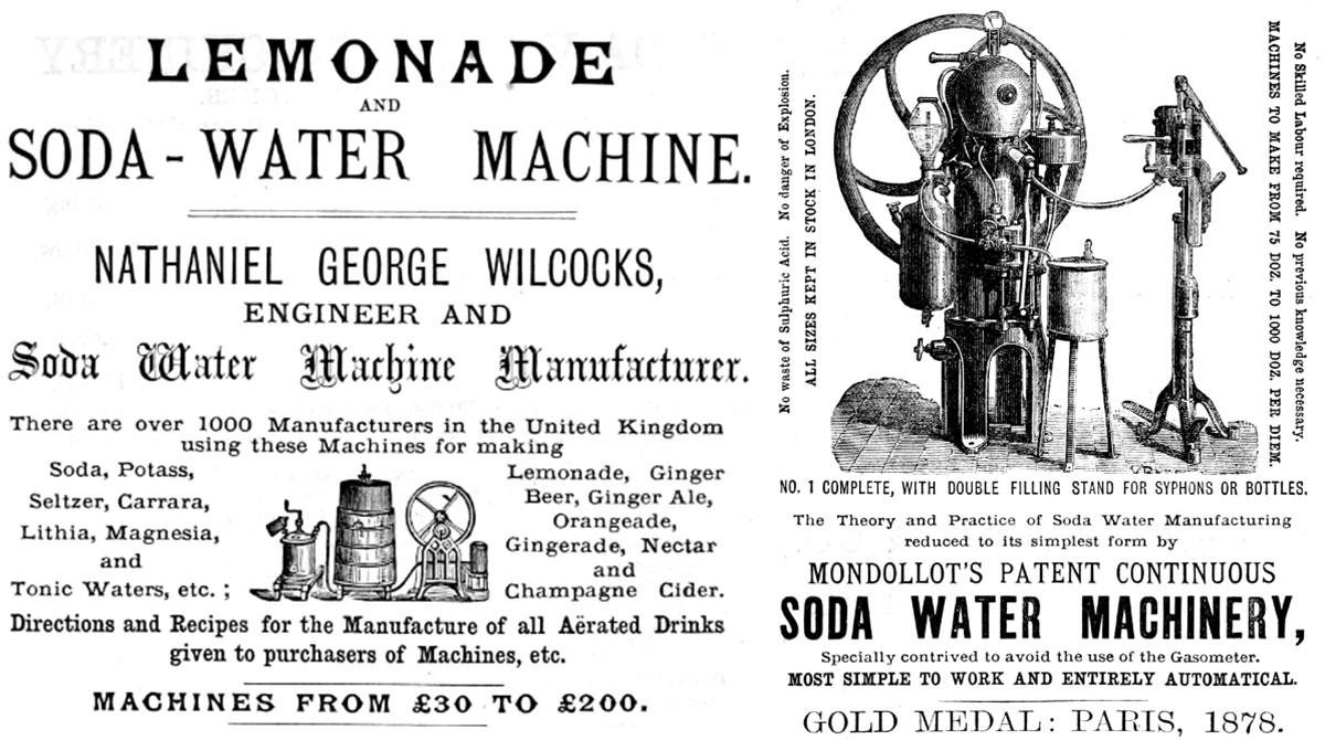 Soda Water Machine - 1878