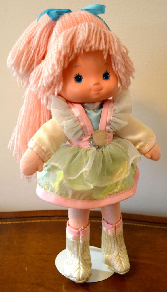 This 1985 prototype for the Moonglow character from Rainbow Brite was the first doll Eskander designed.