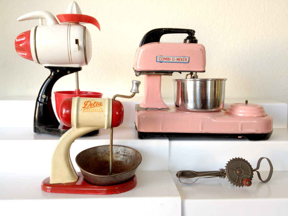 Eskander's collection of role-play mixers from the 1950s and '60s.