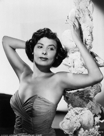 Lena Horne pictured in a 1940s MGM publicity photo.
