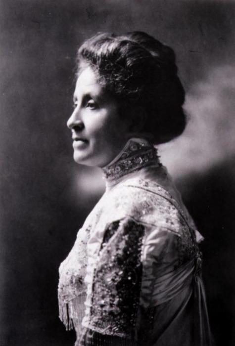 "A writer, educator, and activist Mary Church Terrell, born to former slaves, was the first president of the National Association of Colored Women, which adopted the motto ""Lifting As We Climb."""