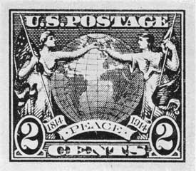Essays The Stamp Designs That Also Ran  Collectors Weekly A  Peace Commemorative Outbreak Of World War I Prevented This Essay  Becoming A Stamp