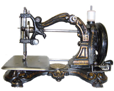 Antique Sewing Machine Collector Harry Berzack On Singers And Adorable How To Use A Old Sewing Machine