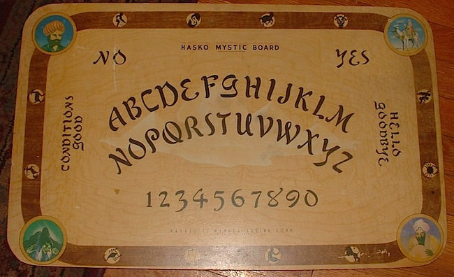 The Mysterious Origins Of Ouija Boards Collectors Weekly