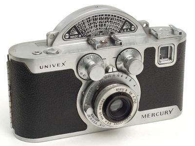 Cool Cameras The Univex Mercury Collectors Weekly