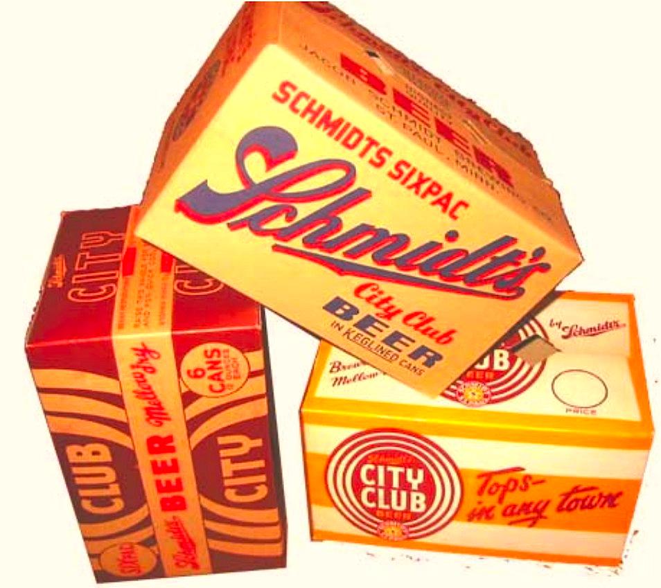 IRON CITY I.C GOLDEN LAGER BEER Cardboard Bottle Box Case Empty Vintage