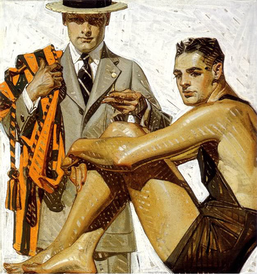 Before Rockwell A Gay Artist Defined The Perfect American