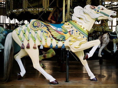 Golden Era Carousel Spieldosen