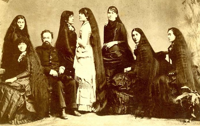 Untangling The Tale Of The Seven Sutherland Sisters And Their 37