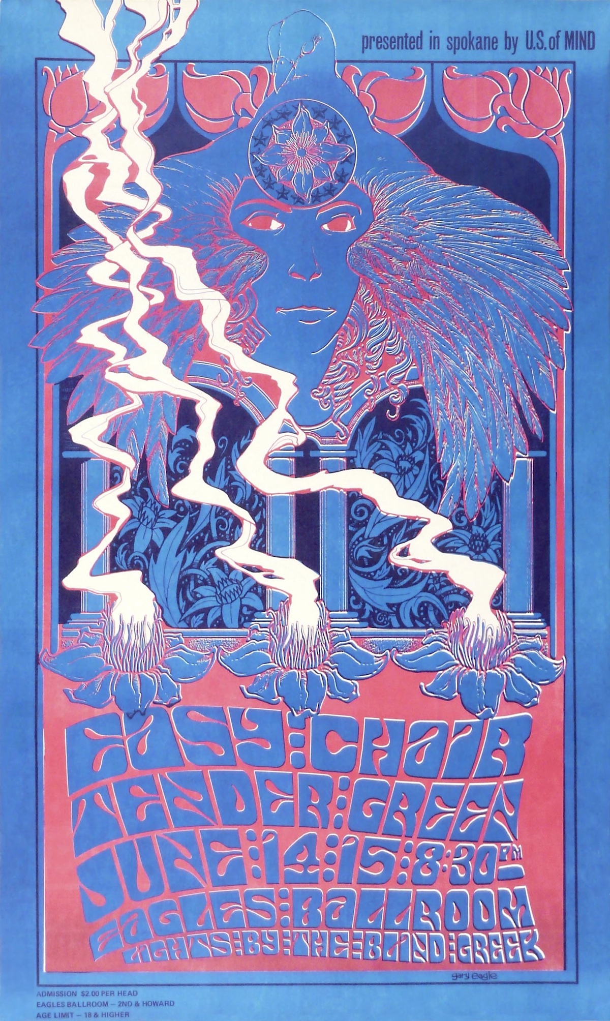 Rainy Day Psychedelia: Seattle's 1960s Poster Scene Gets Its