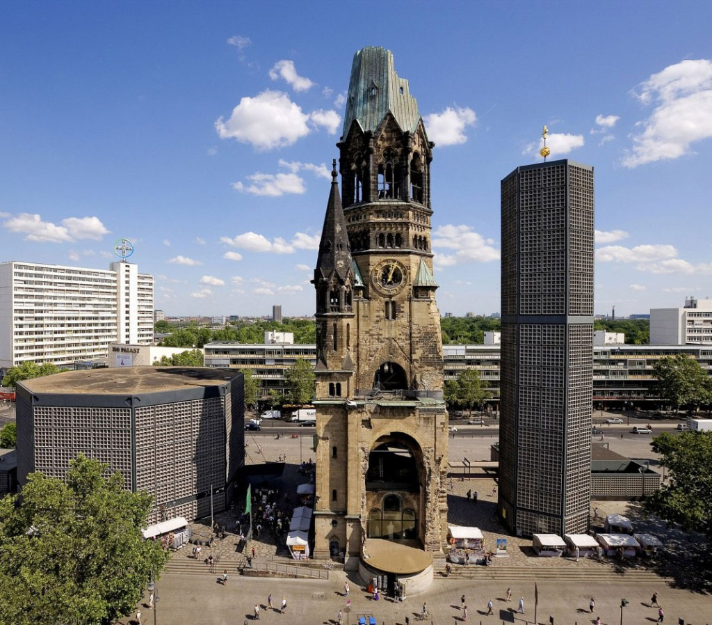 Image result for destroyed church berlin