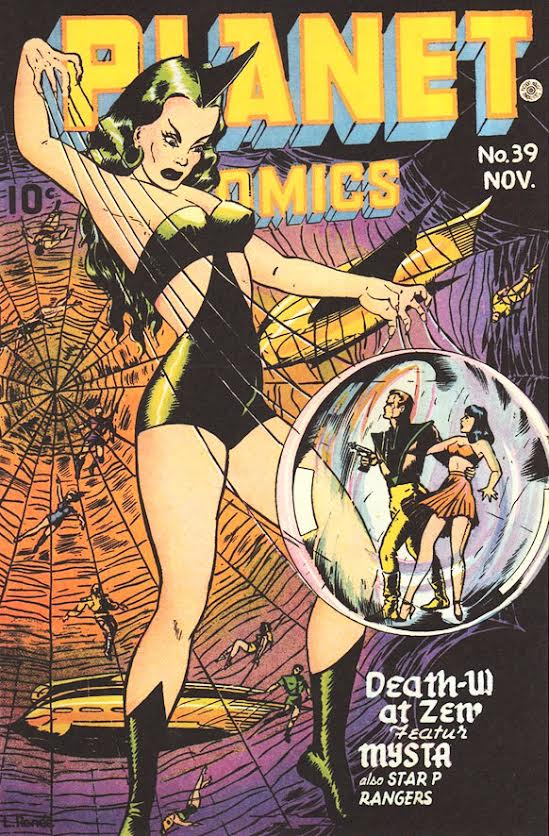 The day after she returns from the 2014 San Diego Comic-Con International,  comics icon Trina Robbins sits down with me outside at a café just around  the ...