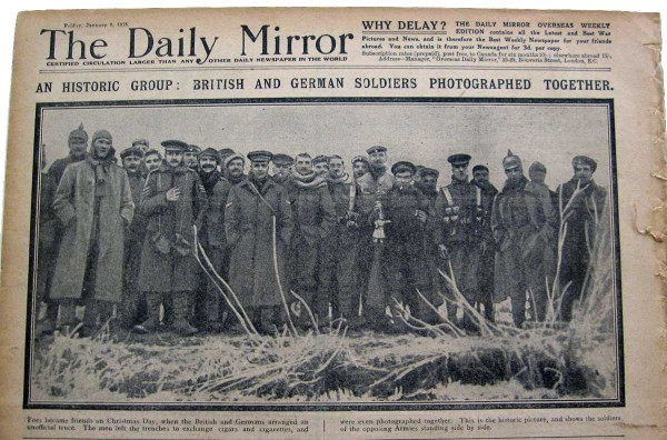 Christmas Truce Of 1914.Fraternizing With The Enemy The Christmas Truce Of 1914