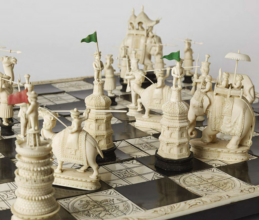 The Art of War Exquisite Chess Sets Once Captured the