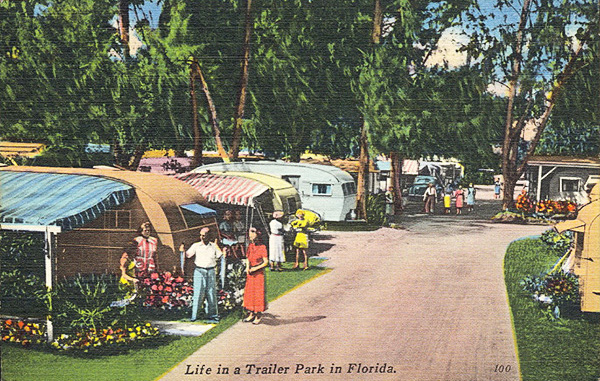 Home in a Can: When Trailers Offered a Compact Version of ... Blue Moon Mobile Home on victorian blue, industrial blue, texas home blue, florida home blue, charleston home blue,